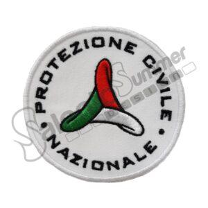 Patch Ricamata Protezione Civile Nazionale Ricamificio Salento Summer Design Ruffano