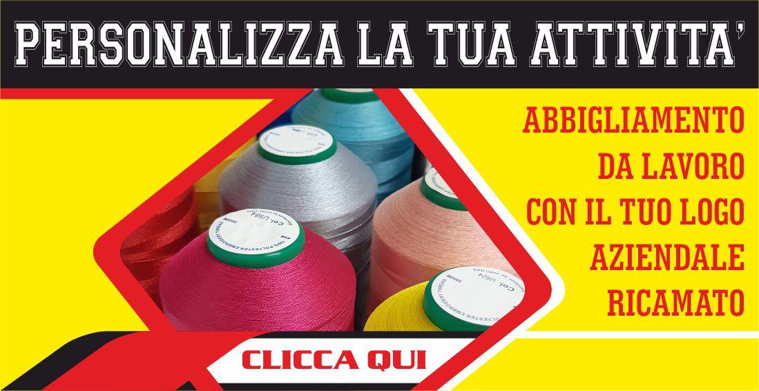 Abbigliamento Lavoro Ricamo Personalizza Azienda Salento Summer Design Ruffano