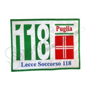 Patch 118 Lecce Soccorso Puglia Ricamo Salento Summer Design Ruffano