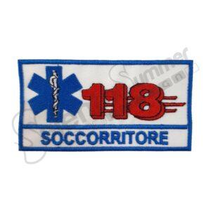 Patch 118 Soccorritore Soccorso Sanitario Salento Summer Design Ruffano