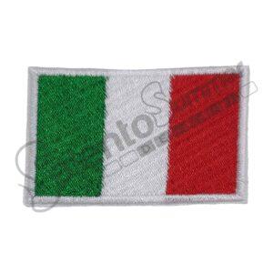 Patch Bandiera Italia Ricamo Salento Summer Design Ruffano