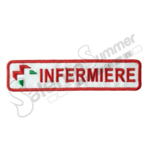 Patch Ricamo Infermiere Anpas Soccorso Sanitario Salento Summer Design Ruffano
