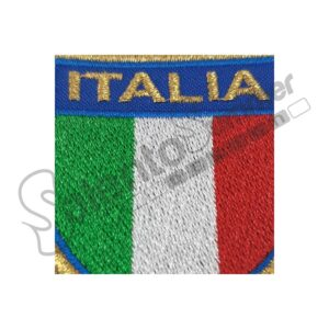 Patch-Scudetto-Italia-Dorato-Ricamo