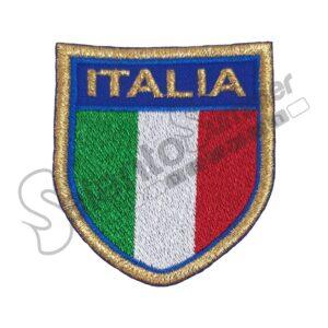 Patch Scudetto Italia Ricamo Salento Summer Design Ruffano