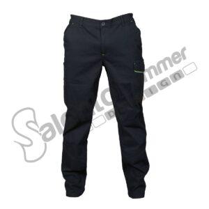 Pantalone Lungo Multitasche Elasticizzato Zurigo Uomo Cotone Pesante Portautensili Navy Salento Summer Design Ruffano