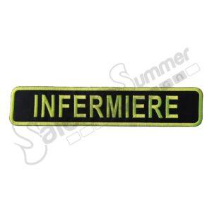 Patch Ricamo 118 Infermiere Spallone Giallo Fluo Emergenza Soccorso Sanitario Toppe Ricamate Salento Summer Design Ruffano
